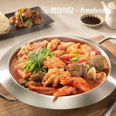 [당일배송] 연안식당 산해진미 해물탕