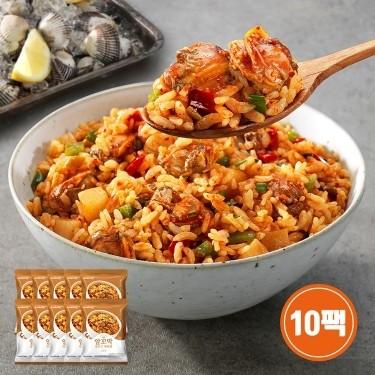 알꼬막 깍두기 볶음밥(간장맛) 10팩