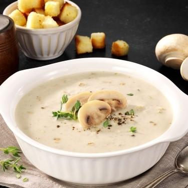 머쉬룸 크림 수프